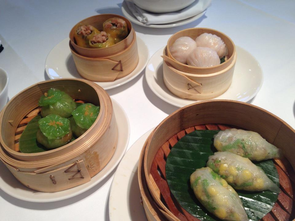 fresh dimsum in Min jiang