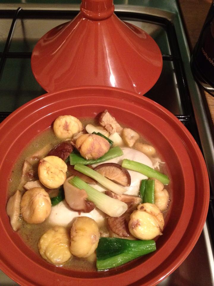 chestnut chicken stew
