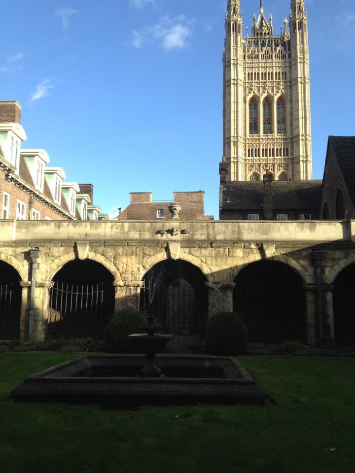 westminster abby garden